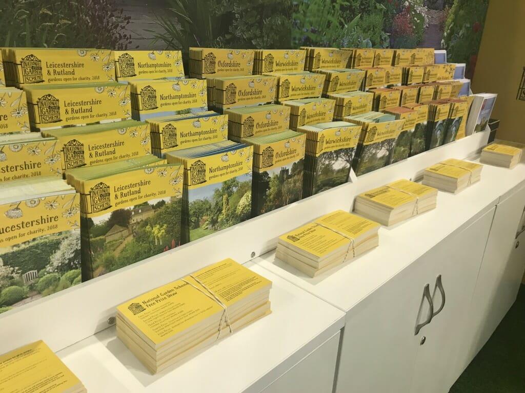 National Garden Scheme display
