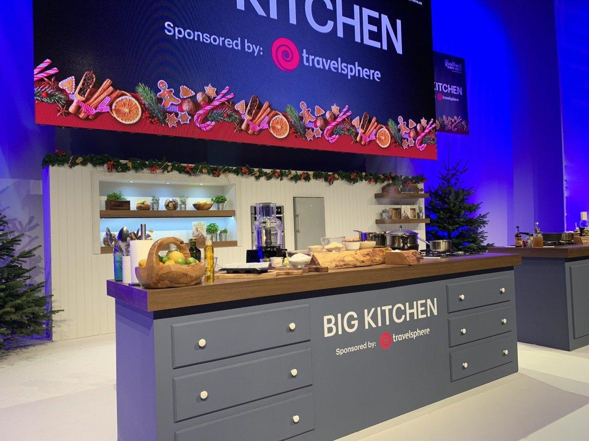 Big Kitchen exhibition stand