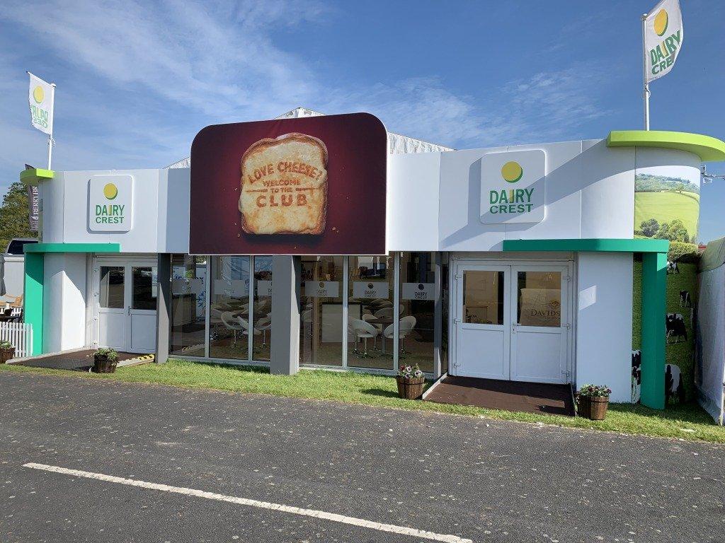 Dairy Crest exhibition stand
